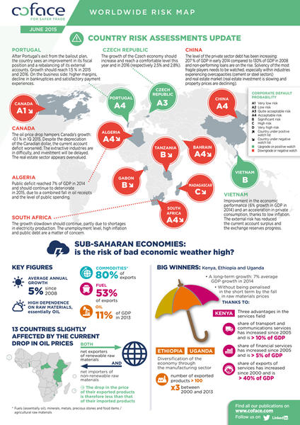 Infographics - Country Risk Assessments